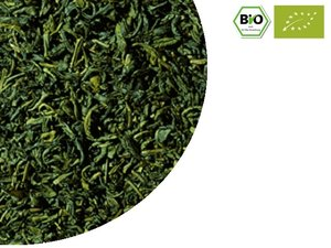 BIO Grüner Tee China Chun Mee 100 Gramm NL-BIO-01