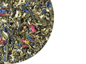 Grüner Tee Sencha Märchenwald - Almonds 100 Gramm