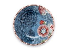 Pip Studio Petit Four Teller Spring to Life Blau
