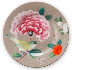 Pip Studio Petit Four Teller Blushing Birds Khaki