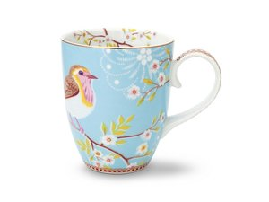 Pip Studio Becher Large Early Bird Blau