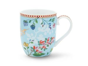 Pip Studio Becher Small Hummingbirds Blau