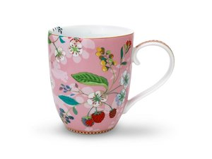 Pip Studio Becher XL Hummingbird Rosa