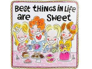 Blond Amsterdam Dose Sweet Viereckig