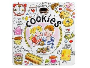 Blond Amsterdam Dose Cookies Viereckig