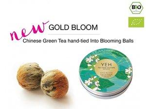 Yeh Tea Gold Blooms - Dose mit 7 Kugeln (50 Gramm)