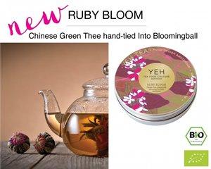 Yeh Tea Ruby Blooms - Dose mit 7 Kugeln (50 Gramm)