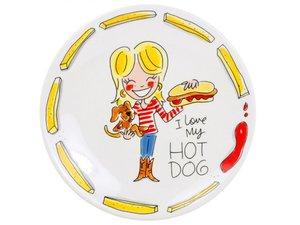 Blond Amsterdam Teller Hot Dog  22 CM