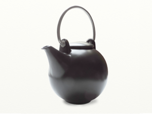 Eslau Bornholm schwarz, 1,4 Liter Teekanne