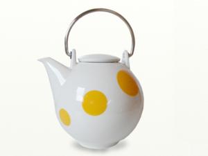 Eslau Bornholm gelb, 2,6 Liter Teekanne