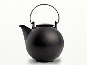 Eslau Bornholm schwartz, 2,6 Liter Teekanne