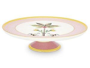 Pip Studio Tortenplatte La Majorelle Rosa 30,5cm