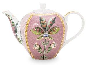 Pip Studio Teekanne La Majorelle Rosa