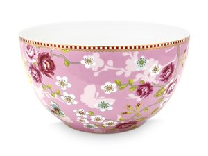 Pip Studio Schale Early Bird Chinese Rose Rosa 18 cm