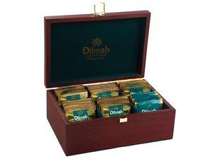 Dilmah Teedose Braun für Teebeutel, 6 Fächer