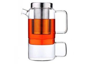 Solo Salerno Glazen Tea for one