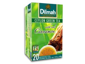 Dilmah Grünen Tee Zimt 20 Teebeutel (40 Gramm)