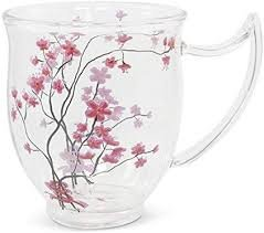 Tealogic Cherry Blossom glas Becher