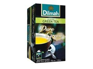 Dilmah Grüner Tee Pur 20 Teebeutel (30 Gramm)
