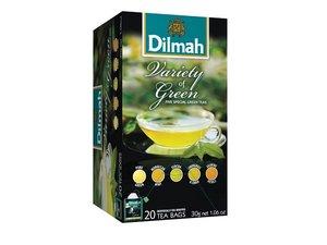Dilmah Green Variety Pack Tea 20 Teebeutel (30 Gramm)