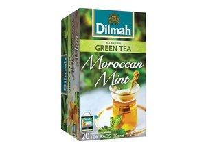 Dilmah Grünen Tee Marokkanische Minze 20 Teebeutel (30 Gramm)