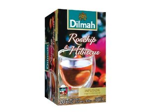 Dilmah Hagebutte & Hibiscus Tea 20 Teebeutel (30 Gramm)