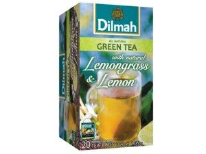Dilmah Grüner Tee mit Zitronengras und Zitrone 20 Teebeutel (30 Gramm)