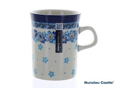 Bunzlau Becher Gerade 250 ml Spring Flower
