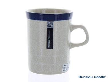 Bunzlau Becher Gerade 250 ml White Lace