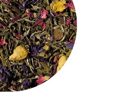 Grüner Tee und Weisser Tee Macabeo, Citrus, Jasmijn Tee 100 Gramm