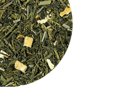 Grüner Tee Sencha Lemone - Citrone 100 Gramm