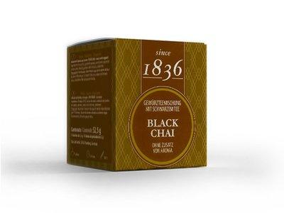 Schwarz Tee - Chai 15 Piramiden-Teebeutel (je 52,5 Gramm)