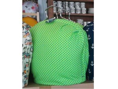 Teewärmer mit Verschluss: Der Teekannenladen Exclusiv: Grün mit Pünktchen