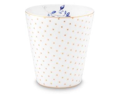 Pip Studio Royal Dots White Mug